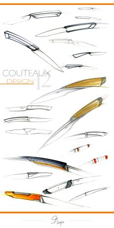 Design couteaux