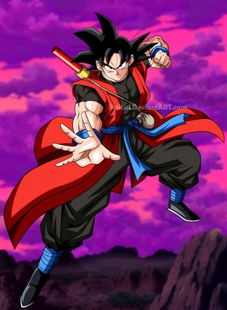 Goku Xeno by Bejitsu - Visit now for 3D Dragon Ball Z compression shirts now on sale! #dragonball #dbz #dragonballsuper