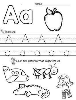 preschool worksheets age 3 - Google Search | Abc ...