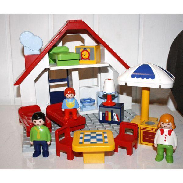 Maison Playmobil 123 Ventana Blog