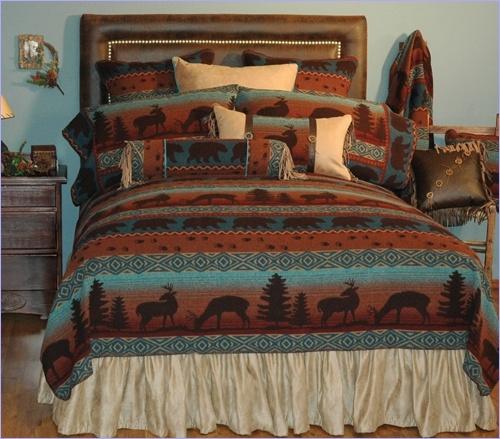 Deer Meadow Bedspread