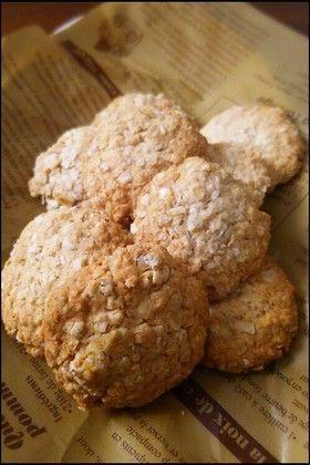 ヘルシー美味しい米粉オートミールクッキー