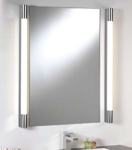 Best 25 bathroom mirror lights ideas on pinterest bath - Bathroom vanity mirror side lights ...