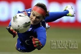 """ERIN MCLEOD (b. 1983), Canadian professional soccer player: Though she grew up mostly in Canada, she spent grades 9-10 in Jakarta when her dad worked as an oilfield engineer there. After 2 years she returned to Canada to live with her grandmother & pursue soccer. Of Indonesia she said, """"It broadened my world view because it was a developing country...I saw real poverty for the first time. It was different but it was a great experience."""" An Olympic medalist, she plays for the Houston Dash…"""
