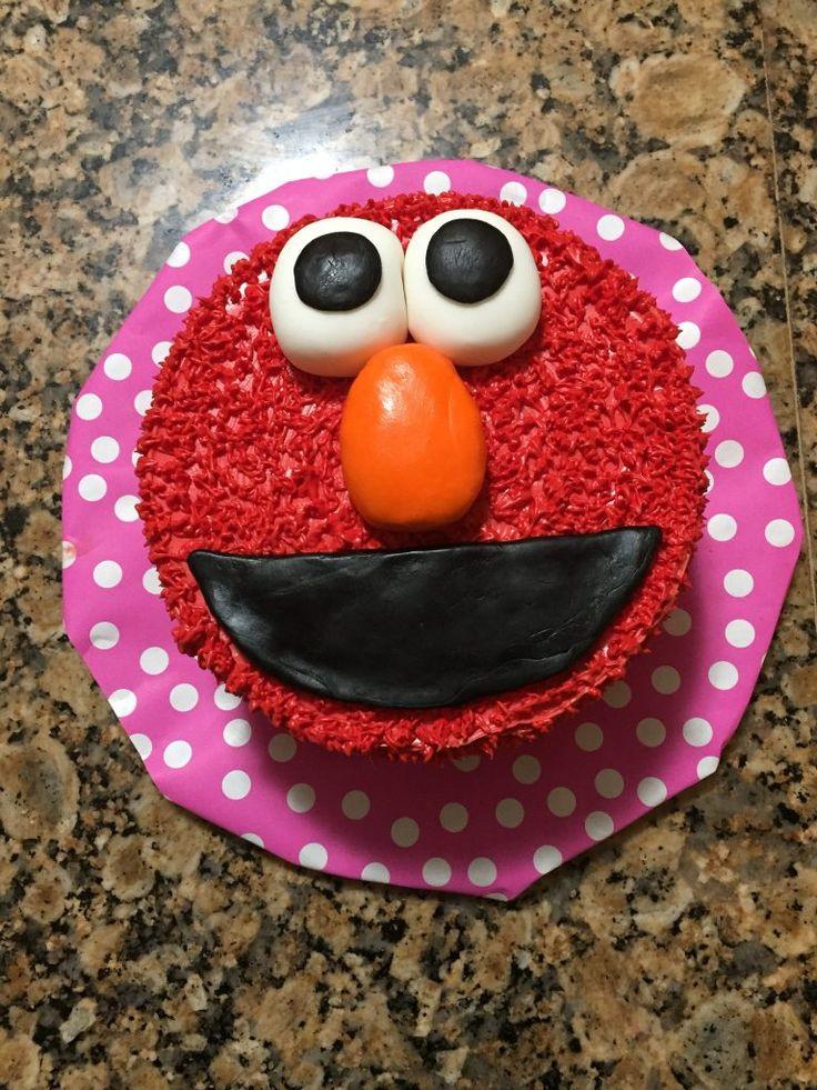 Easy Elmo Cake für Anfänger   – Jeremiah's 3rd birthday party