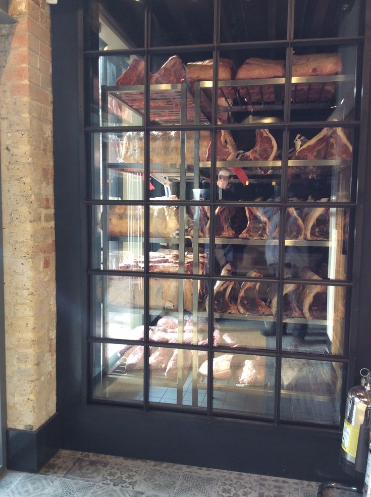 Chop Bloc Chelmsford Meat Display Unit Inside Meat Restaurant Meat Shop Restaurant Steak