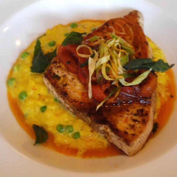 Cheap Eats: Sword Fish with Risotto @lebaratinyyz