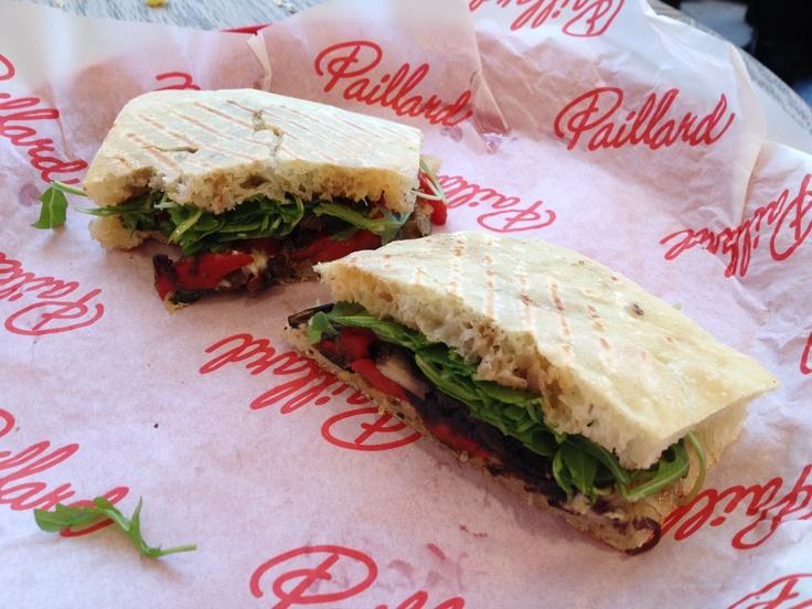 Chez Paillard grilled vegetable sandwich - so good!