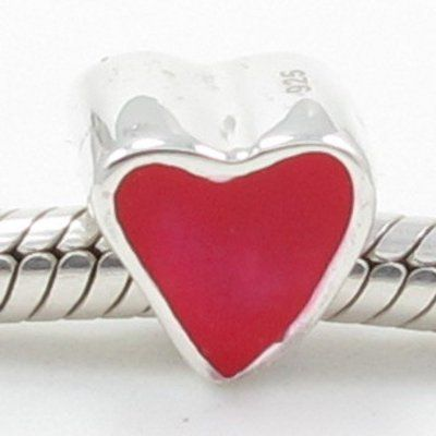 pandora valentine heart earrings