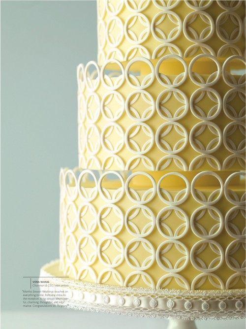 Wedding cake by Mark Joseph Cakes as seen in Martha Stewart Weddings - Winter 2010
