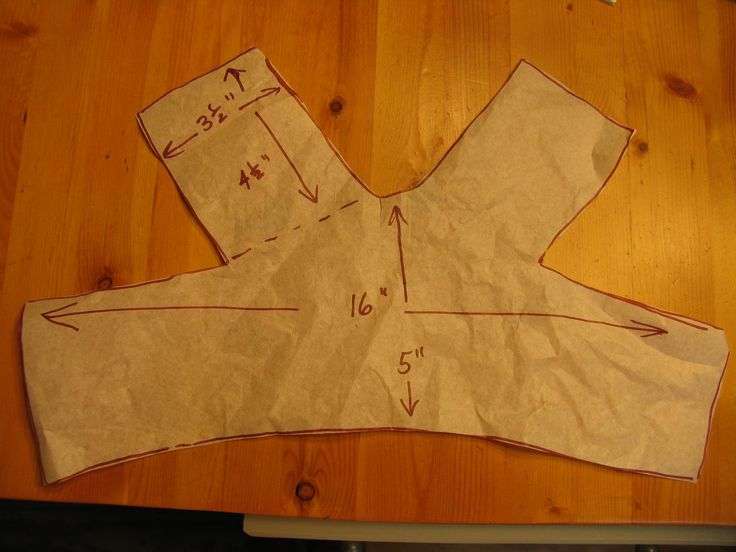 patterns for harnesses for small dogs  | pattern piece1 150x150 Make a soft and cuddly harness for your dog.