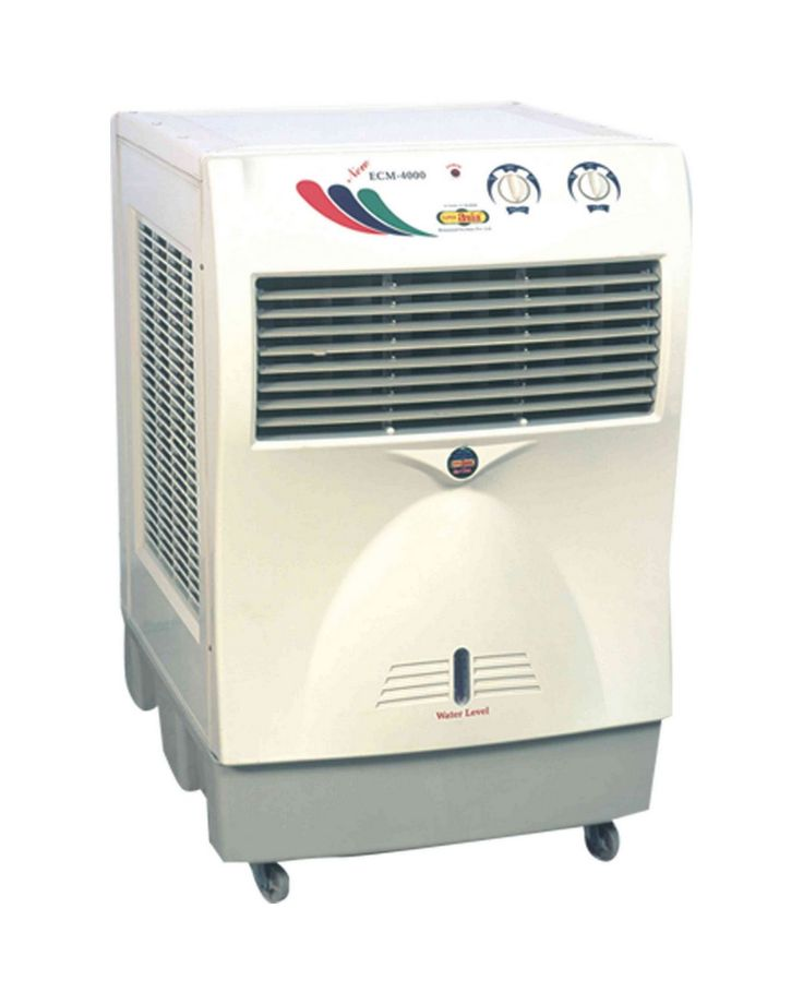 A Small Air Conditioner For Room On Wheels
