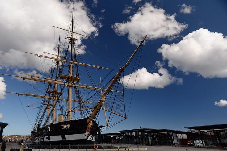 Fregatten Jylland, Ebeltoft