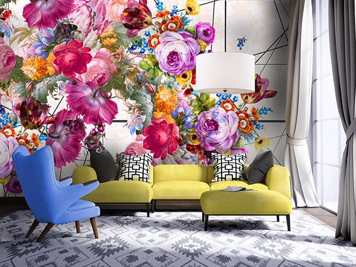 17 best ideas about wall murals on pinterest wall murals for Mural flower