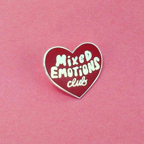 Mix Emotions Club Pin   @MissBethKatie ♡