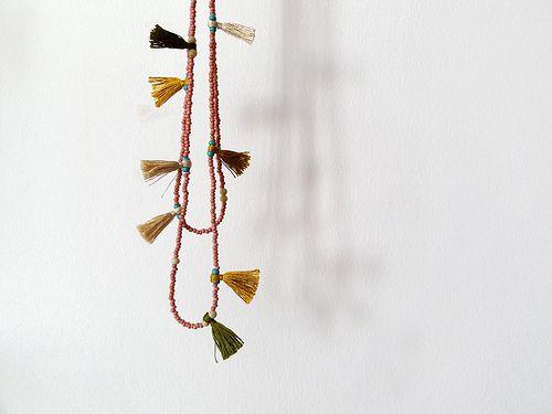 colar de franjas | perdi o fio à meada | vera espinha | Flickr