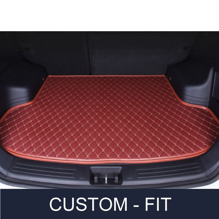 Custom fit car trunk mat for Subaru Forester Legacy Outback Tribeca 3D carstyling heavy duty all weather tray carpet cargo liner