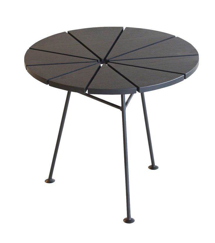 OK Design OK Design - Bam Bam Table - Small n' Tall-Stained Black Ash | mintroom.de #OK Design #mintroom