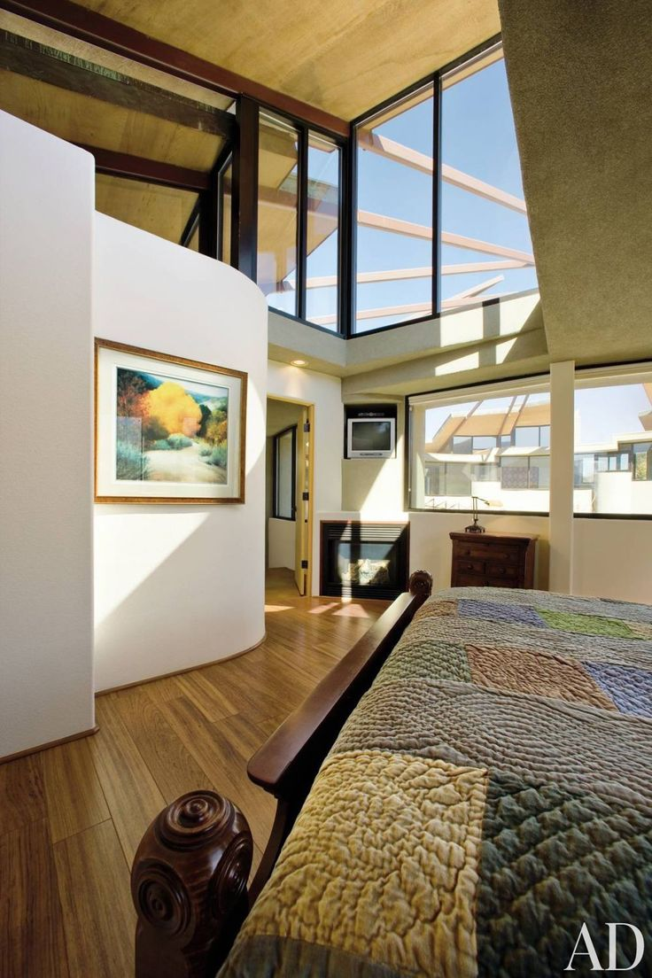 Contemporary Bedroom And Bart Prince Architect In Albuquerque New Mexico