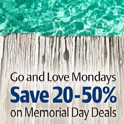 memorial day travel deal