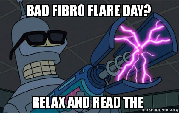 3 things to remember during a Fibro flare