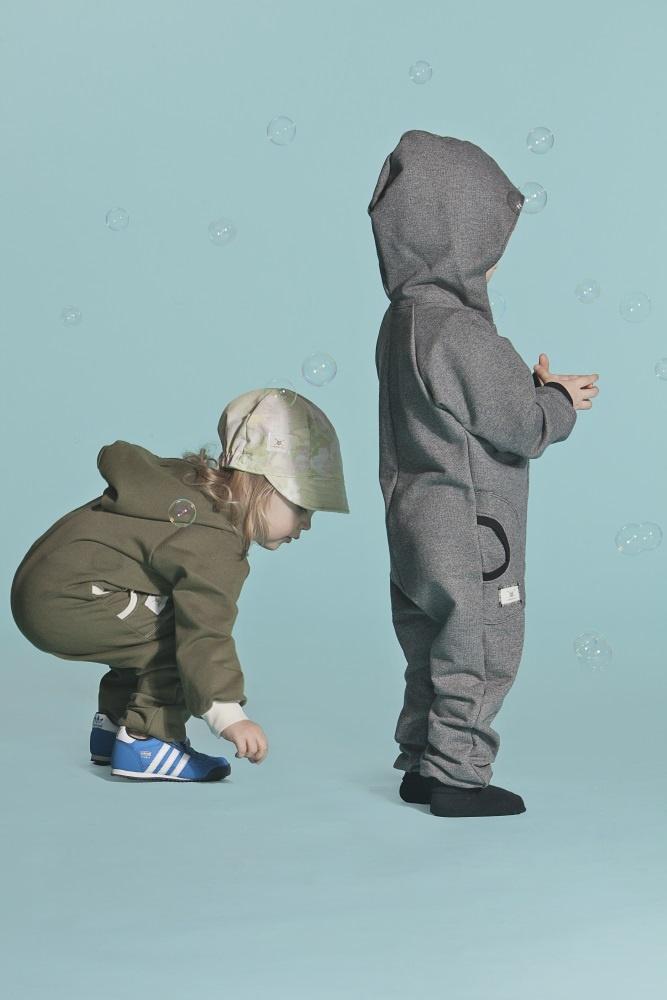 Jump Suit Fgreen/NatWhite DGray/Black