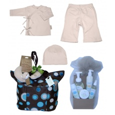 Bundle of Joy in Pink from Baby Tote Naturals