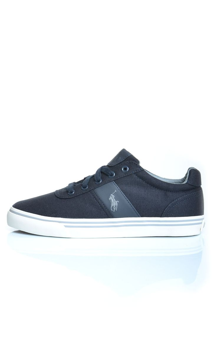 Scarpe Polo Ralph Lauren HANFORD NE Sneakers Basse - Grigio - Scarpe Uomo - A85-Y2043 - Dursoboutique.com