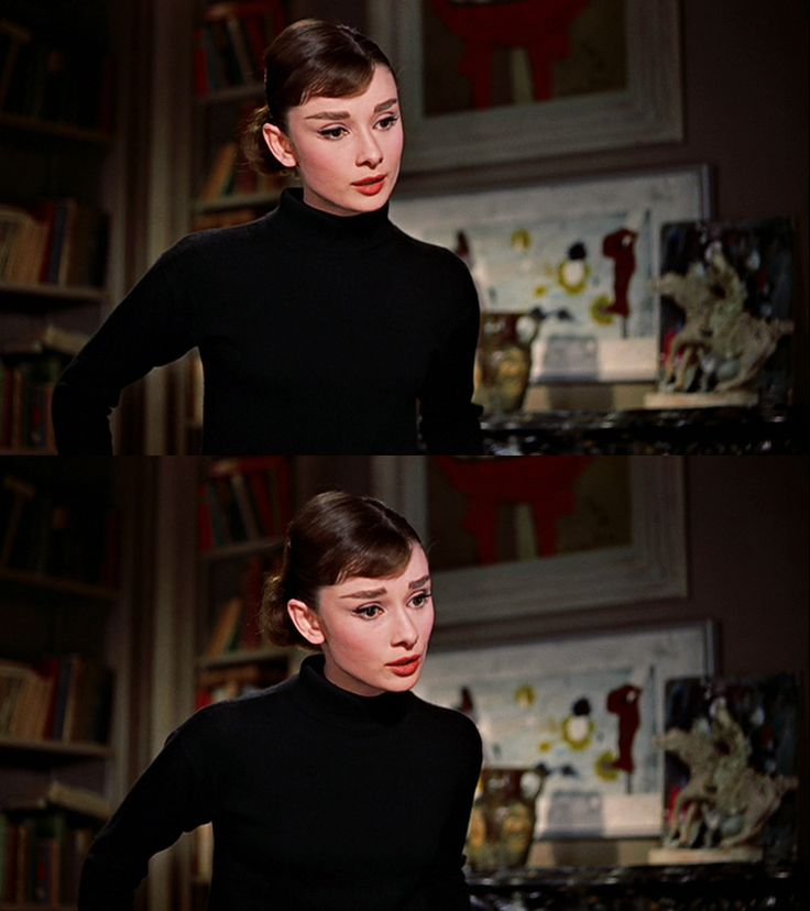Audrey Hepburn as Jo Stockton in Funny Face, 1957