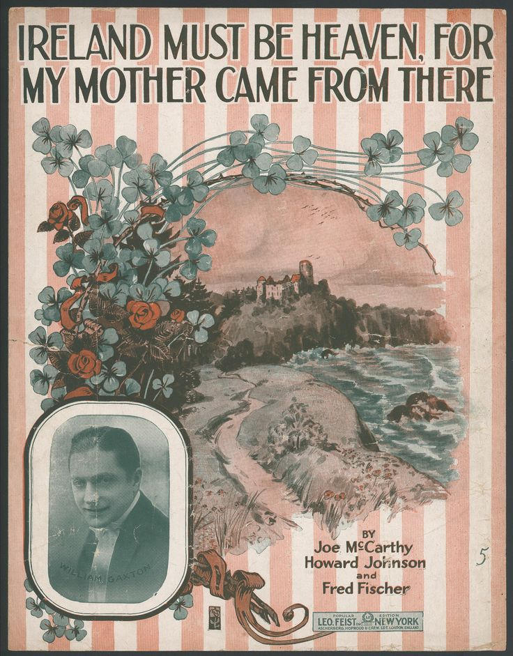 Written and composed by Joe McCarthy, Howard Johnson, and Fred Fischer, this sheet music is from 1916.