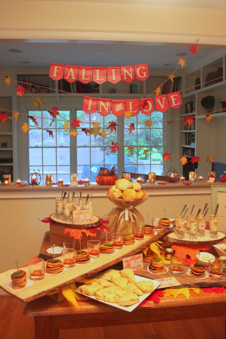 Best 25 bridal shower fall ideas on pinterest halloween bridal showers fall party themes and - Bridal shower theme ideas for fall ...