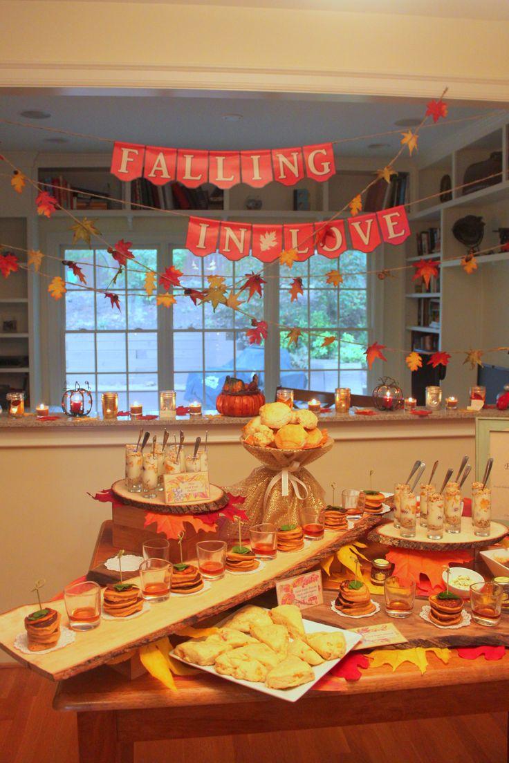 Fall Bridal Shower Autumn Party ideas Pinterest