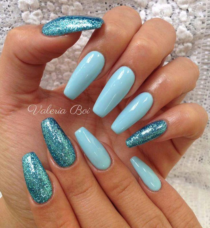 Azzurro azzurro glitter