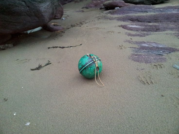 washed up buoy