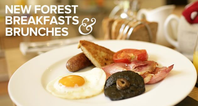 The celebrated 'New Forest Marque Breakfast' must include at least four traditional ingredients sourced from the National Park. Forest bangers, free range eggs, cured bacon, artisan wholemeal or local mushrooms –the combination isn't difficult to deliver. But if eggs royaleor kedgeree is more your thing, then chalk stream trout from the River Avon or locally smoked haddock fit the bill perfectly.