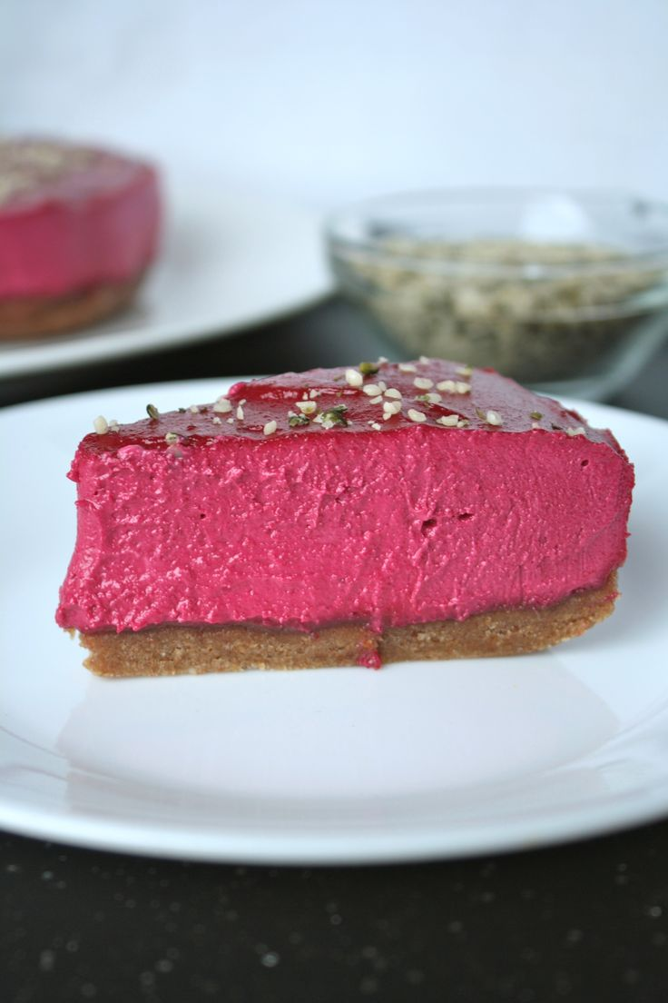 Valentine's Day is a week from today. Who celebrates!? I know a lot of  people who do celebrate. But at the same time I know a lot of people who  don't. Either way, it's okay! Make this cheesecake to celebrate regardless.  You can have a cashew cake party with your boyfriend/girlfriend, parents,  siblings, friends, or even alone in your room watching Netflix. All of  those ways sound great to me because lets be honest; once you take a bite  of this dense, creamy cake your taste buds will…