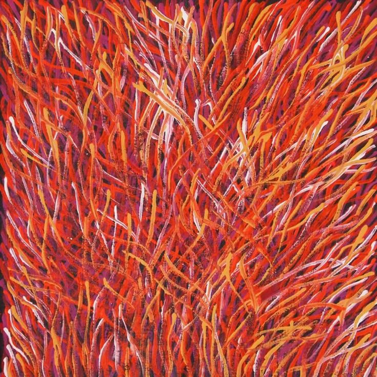 Grass Seed (BW-1006) by Barbara Weir http://merindahart.com.au/artists/barbara-weir