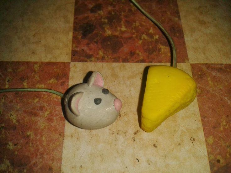 """La niña mancha: Marcapaginas """" rata de biblioteca"""""""