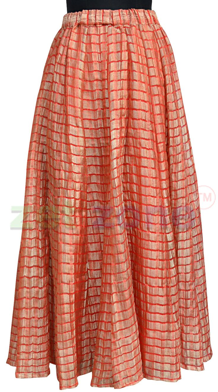 This red skirt from Zet Zone, featuring simple yet chic styling will complement you in any party. Designed from soft tissue fabric, this skirt is full flared and comfortable to wear. Team it with red top and golden heels.  Shop Now » https://www.zetzone.com/accessories/Bottom/Palazzo_and_Skirt/Red_Flared_Skirt.html