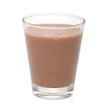 Tip: Probeer binnen een half uur na de training een goed glas magere of halfvolle chocolademelk te nemen!