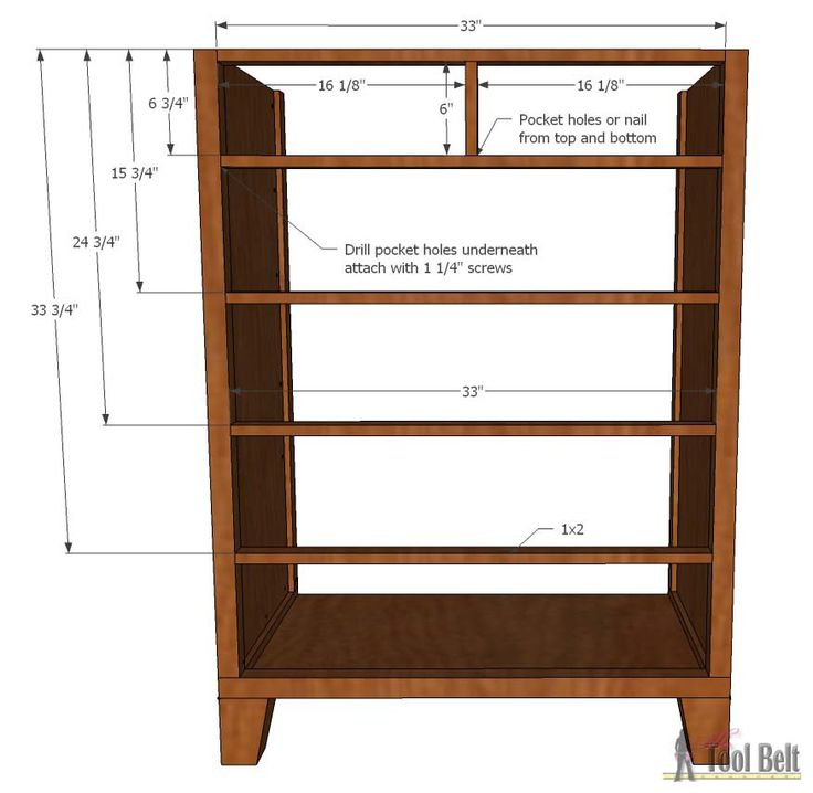 Tall Dresser Woodworking Plans - WoodWorking Projects & Plans
