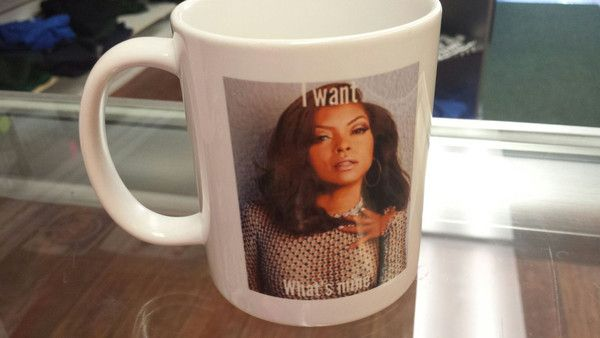 Cookie Lyon's great face telling you that she wants what's hers! From the hit FOX TV show Empire. Wake up with this fantastic and sarcastic mug.
