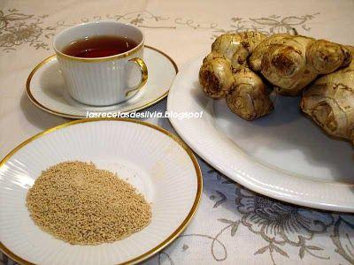 Me encanta este blog. Con las recetas de Silvia aprendí a hacer el té de jengibre. Es lo mejor para evitar gripes y resfríos. ¡Y es riquísimo!