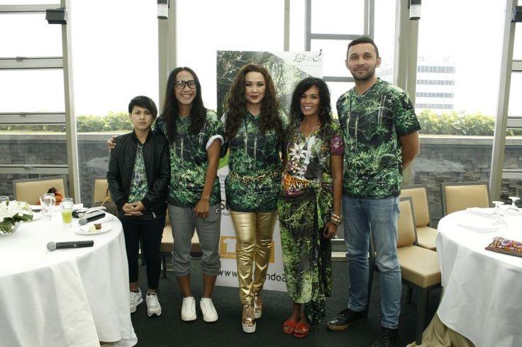 Delia von Rueti Wujudkan Taman Hutan Hujan Tropis Pertama di Indonesia