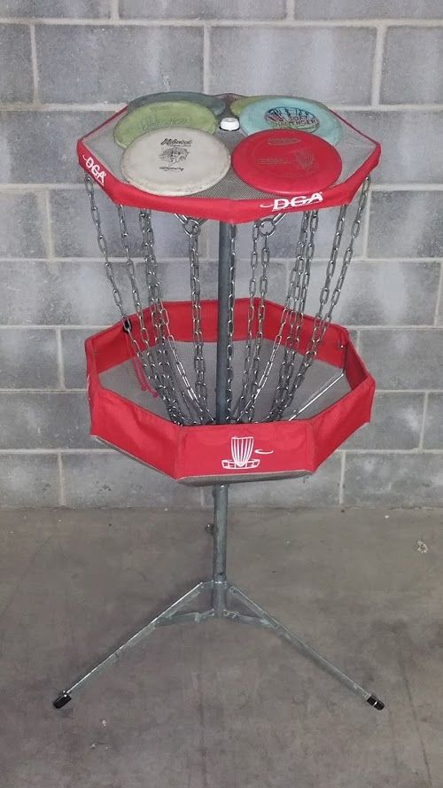 DISC GOLF BASKET (COLLAPSIBLE 2 PC) - Broadway Party & Tent Rental