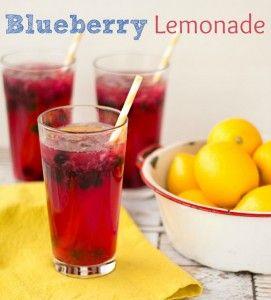 Blueberry Lemonade Recipe - The Bearfoot Baker
