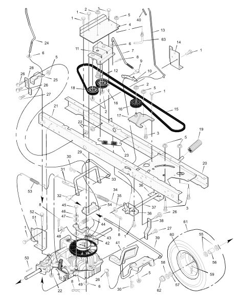 Ede E Ab Bb C A Lawn Mower Parts Husqvarna on Honda Vtec Engine Illustration