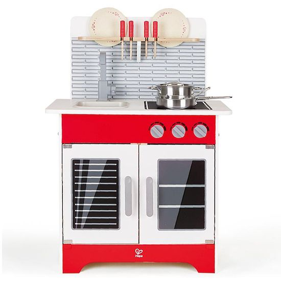 Red Gourmet Kitchen | HAPE Toys | Buy online at DirectToys NZ