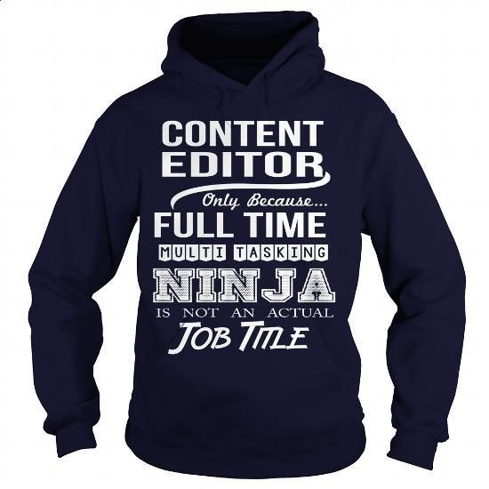 CONTENT-EDITOR #Tshirt #T-Shirts. MORE INFO => https://www.sunfrog.com/LifeStyle/CONTENT-EDITOR-97453084-Navy-Blue-Hoodie.html?60505