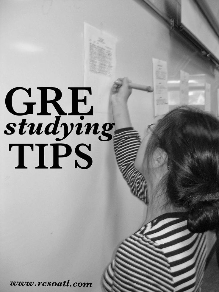 #GRE Studying tips to get your best score for #college #gradschool